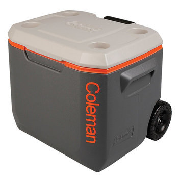 Coleman 765873 50 Qt Xtreme Wheeled Dark Grey Cooler