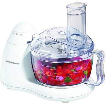 Hamilton Beach 6 Cup Bowl Food Processor White Model 70450