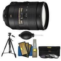 Nikon 28-300mm f/3.5-5.6 G VR AF-S ED Zoom-Nikkor Lens with 3 UV/ND8/CPL Filters + Tripod + Kit for D3200, D3300, D5200, D5300, D7000, D7100, D610, D800, D810, D4s DSLR Cameras
