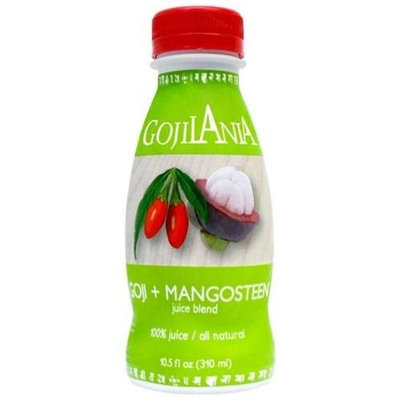 GOJILANIA Juice Blend, Goji + Mangosteen, 10.5-Ounce Bottles (Pack of 12)