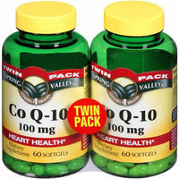 Spring Valley Heart Health Dietary Supplement Co Q-10