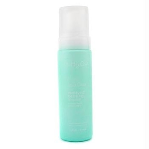 Carolina Herrera H2o+ Sea Clear Mattifying Cleansing Mousse Cleanser for Unisex, 7.5 Ounce