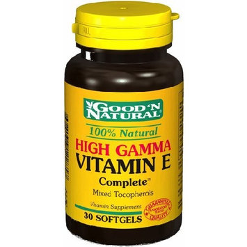 Good'N Natural - High Gamma Vitamin E complete, 30 Softgels