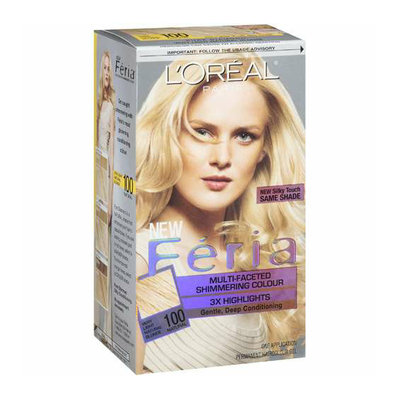 Feria : Multi-Faceted Shimmering Colour Very Light Natural Blonde 100 Hair Color