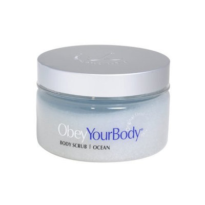 OYB Obey Your Body Dead Sea Mineral Salt Scrub Ocean Fragrance