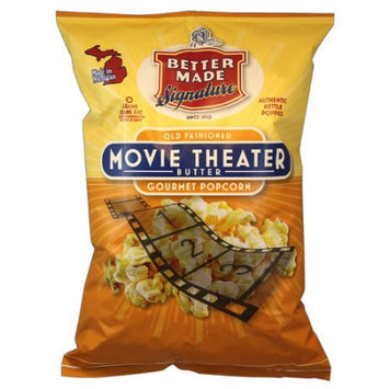 Better Made Snack Food, Inc. Better Made Old Fashioned Movie Theater Butter Gourmet Popcorn, 8 oz
