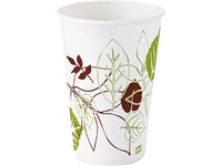 Dixie 12 oz Disposable Cold Cup (Paper, White) [PK/1200]. Model: 12FPWS