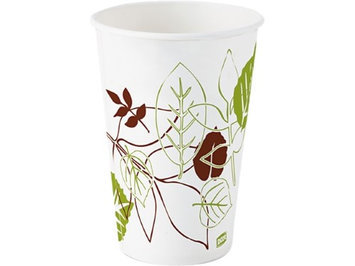 Dixie 12 oz Disposable Cold Cup (Paper, White) [PK/1200]. Model: 12FPWS