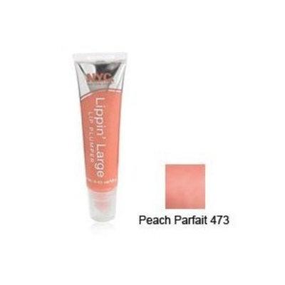 N.Y.C. York Color Lippin Large Lip Plumper, Peach Parfait #473 - 1 Ea