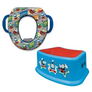 Thomas & Friends Thomas and Friends Potty and Step Stool Combo Set, Blue (Discontinued by Manufacturer)