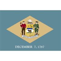 Annin Delaware State Flag - 4' x 6'