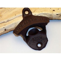 IWGAC 0170S-07402 Cast Iron Wall Mount Bottle Opener Set of 4