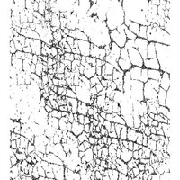 Cam Consumer Products, Inc. Crafty Individuals Unmounted Rubber Stamp Crackle Background