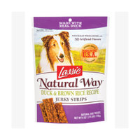 Lassie Natural Way Duck & Brown Rice Jerky Strips