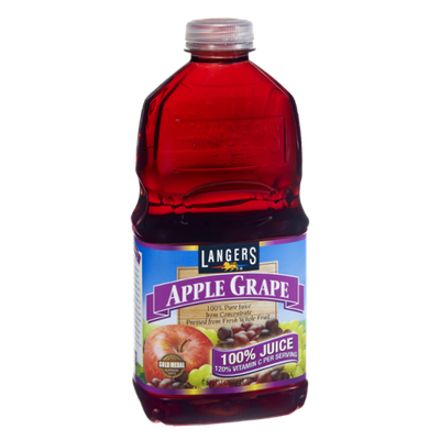 Langers Apple Grape 100% Pure Juice from Concentrate