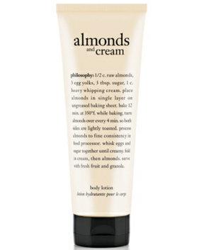 philosophy almonds & cream body lotion