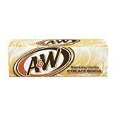 A&W Cream Soda 12oz Cans (Pack of 24)
