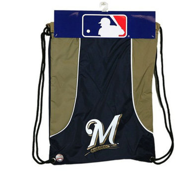 Concept One MLB Milwaukee Brewers Team Color Back Sack - School Supplies