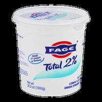 Fage Total 2% Lowfat Greek Strained Yogurt