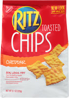 Nabisco RITZ Cheddar Toasted Chips
