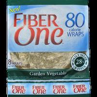 Fiber One 80 Calorie Wraps Garden Vegetable