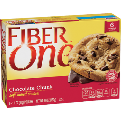 Fiber One Soft Baked Chocolate Chunk Cookie