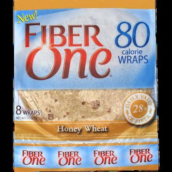 Fiber One 80 Calorie Wraps Honey Wheat