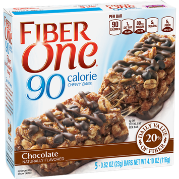 Fiber One 90 Calorie Chocolate Chewy Bars