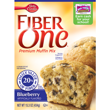 Fiber One Blueberry Muffin Mix