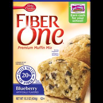 Fiber One Blueberry Muffin Mix