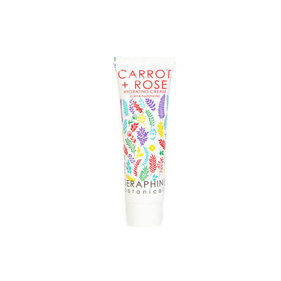 Seraphine Botanicals Carrot + Rose Hydrating Cream