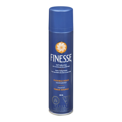 Finesse Self Adjusting Hair Spray, Flexible Hold, 300 mL