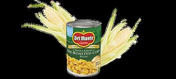 Del Monte® Fire-Roasted Whole Kernel Corn Blend