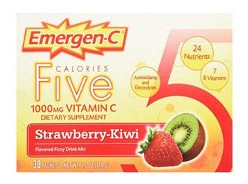 Emergen-C Five Calories 1,000 mg Vitamin C Strawberry-Kiwi