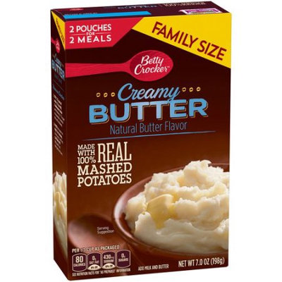 Betty Crocker™ Homestyle Creamy Butter Real Mashed Potatoes