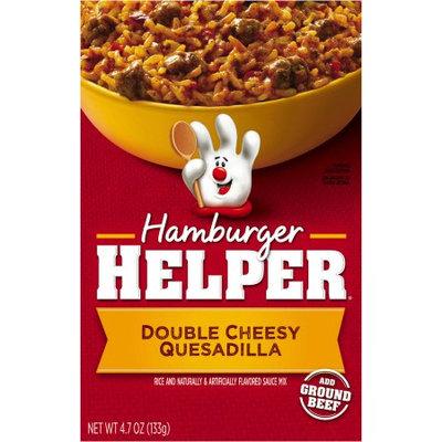 Betty Crocker™ Hamburger Helper Mexican Double Cheesy Quesadilla