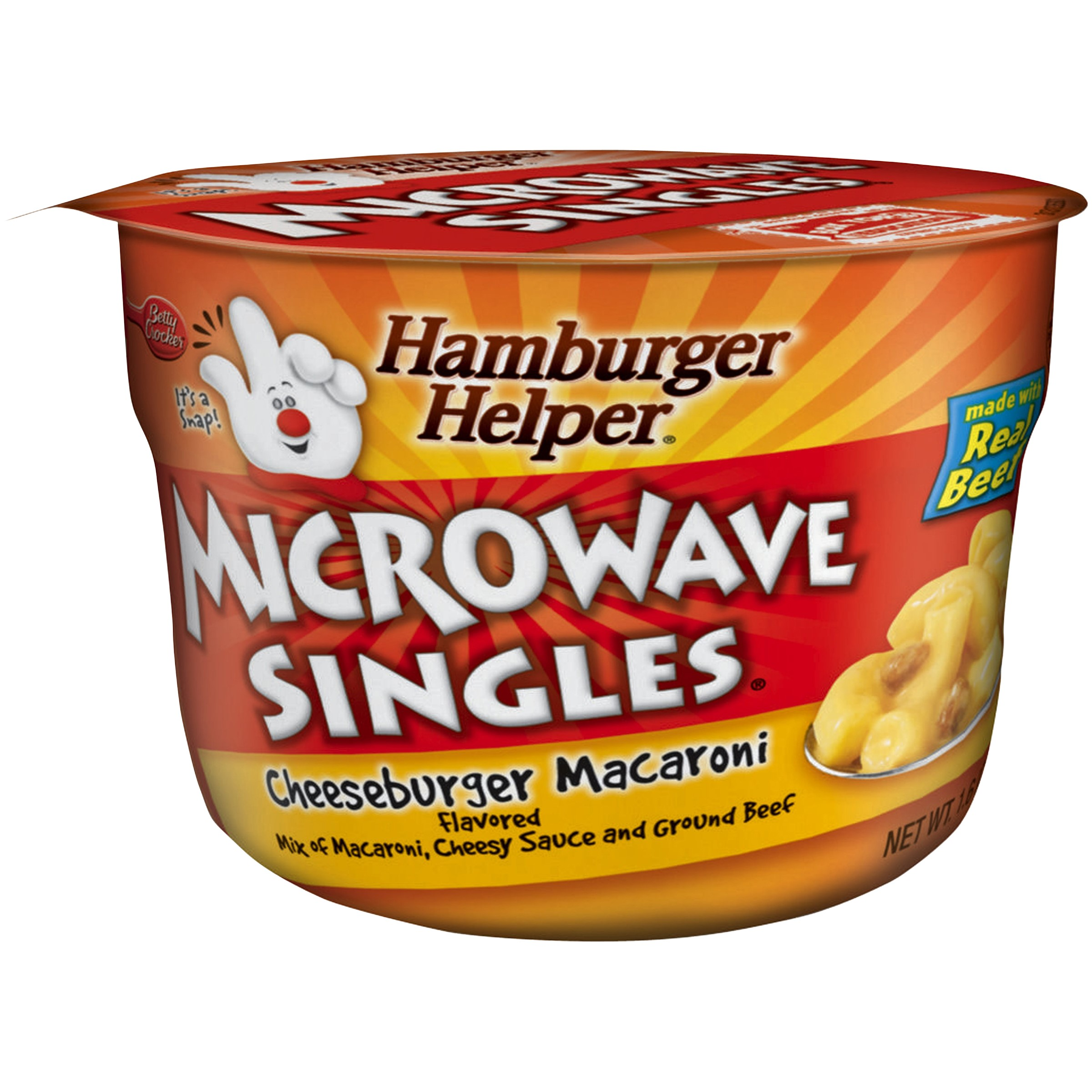 Betty Crocker™ Microwave Singles® Cheeseburger Macaroni
