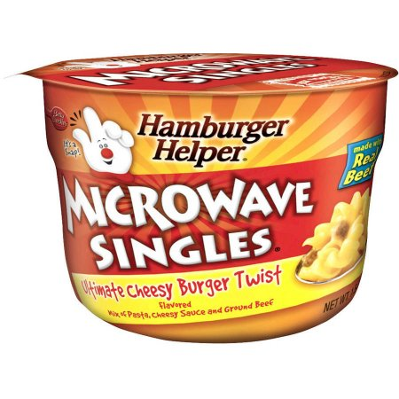 Betty Crocker™ Microwave Singles® Ultimate Cheesy Burger Twist