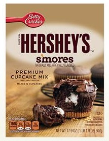 Betty Crocker™ HERSHEY'S™ S'mores Cupcake Mix