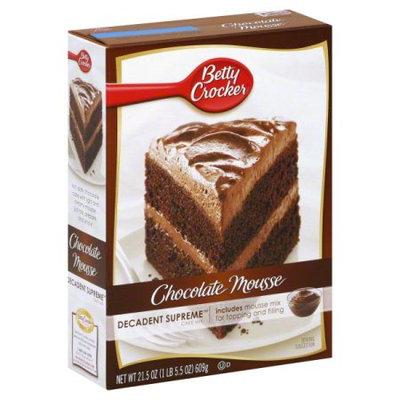 Betty Crocker™ Decadent Supreme Cake Chocolate Mousse