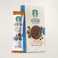 STARBUCKS® Caramel Iced Coffee Smooth & Refreshing VIA® Instant