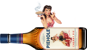 Piehole Canadian Whiskey with Cherry Pie Liqueur