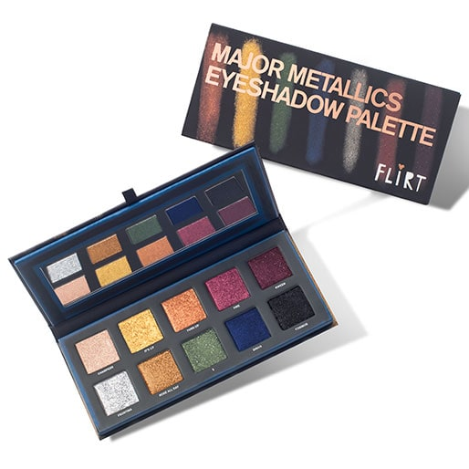 Flirt Cosmetics Major Metallics Eyeshadow Palette