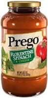 Prego® Florentine Spinach and Cheese Pasta Sauce
