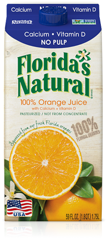 Florida's Natural Orange Juice with Calcium & Vitamin D (No Pulp)