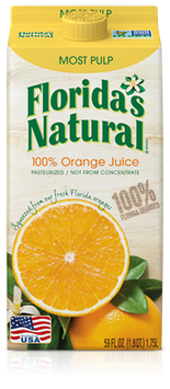 Florida's Natural Orange Juice (Most Pulp)