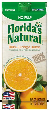 Florida's Natural Premium Orange Juice (No Pulp)