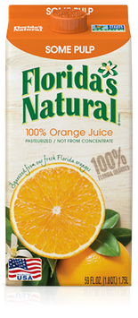 Florida's Natural Orange Juice (Some Pulp)