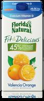 Florida's Natural Fit & Delicious Valencia Orange with Calcium & Vitamin D