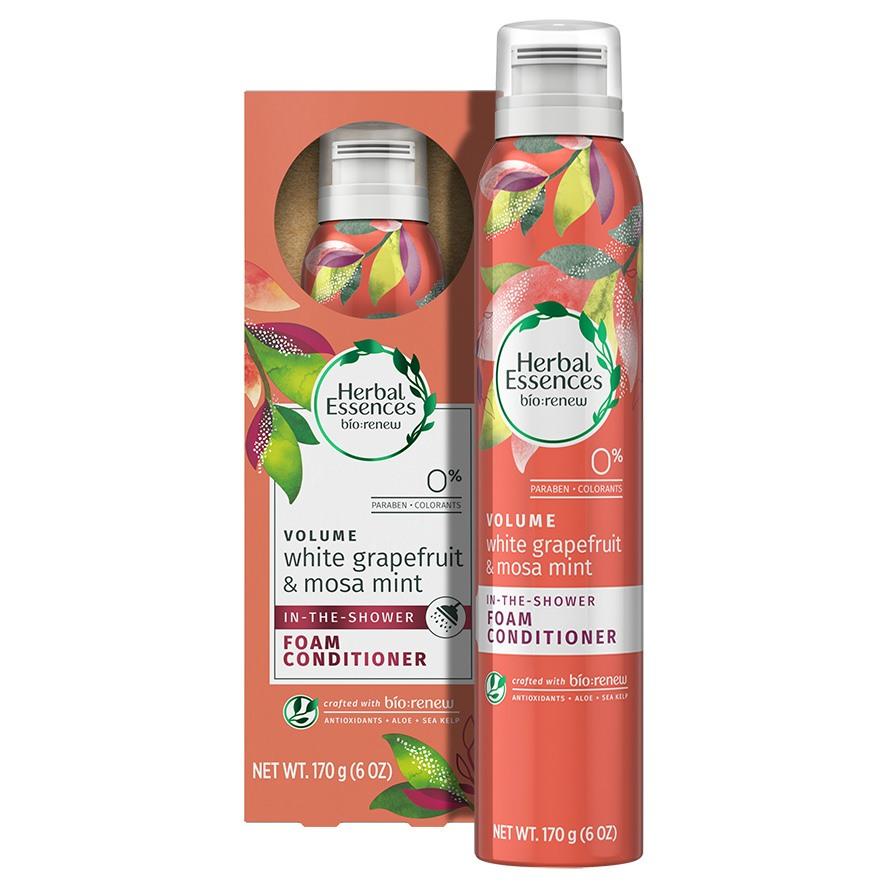 Herbal Essences White Grapefruit & Mosa Mint Foam Conditioner